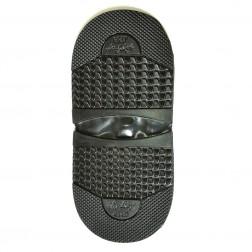 """Набойка формовая (10 пар) """"Long Life Grip """" мужская Т.7,0 мм. черная"""
