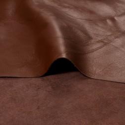 Кожа одежная коричневая (05-06) т.0,6-0,7мм